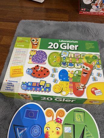20 gier laboratorium puzle interaktywna marchewka