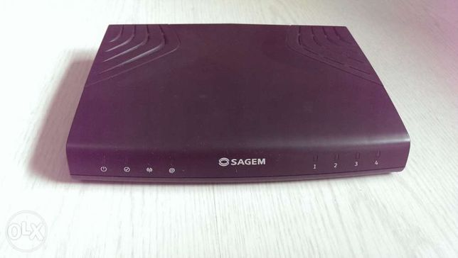 Router Modem ADSL Sagem