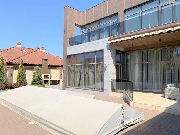 стильный дом с бассейном, Совиньон-1, охрана, близость моря