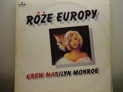 Płyta winylowa Róze Europy-Krew Marilyn Monroe