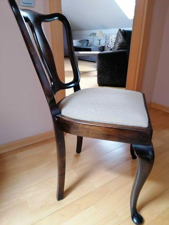 Krzesła dębowe, różne- Antyki