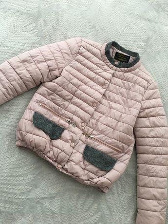 Куртка пудрового коліру