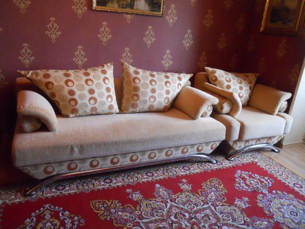 Раскладной диван+раскладное кресло- кровать
