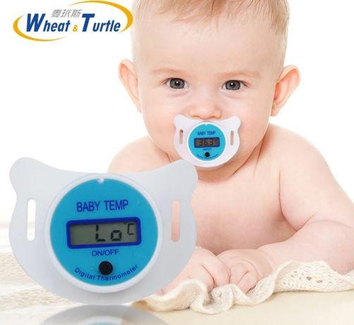 Соска-термометр электронный- комфортный способ измерения температуры .