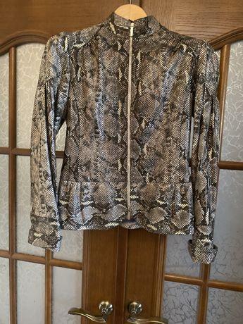 Куртка кожаная. Итальянская кожа