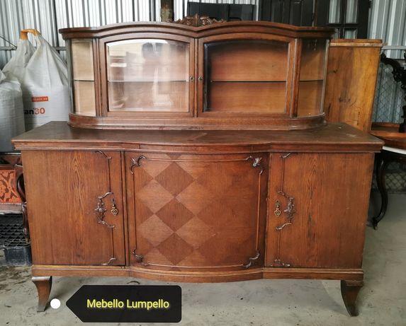 Kredens duży stary drewniany komoda barek szafa szafka