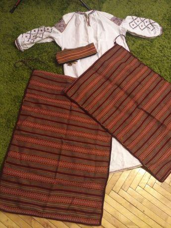Космач вишиванка стрій сорочка вишита ручна робота