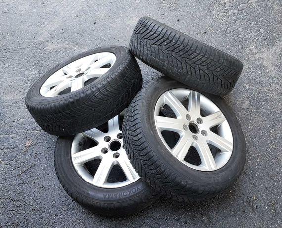 Opony Felgi Koła ZIMOWE # BBS # 5x112 # Audi A3#  Vw Seat # 205/55 16
