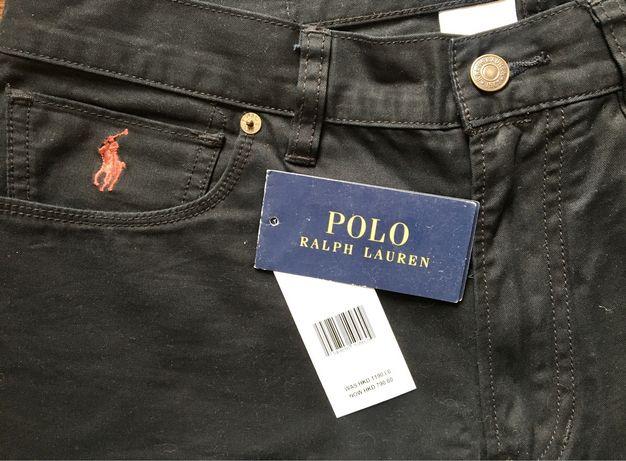 Ralph Lauren штаны мужские оригинал черные 33  новые брюки чиносы