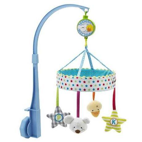Brinquedo giratório com música para berço bebé (2 uds)