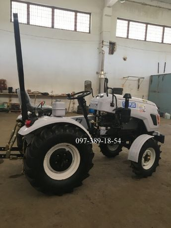 Трактор Булат Т-25 MASTER,МАСТЕР +3т новіска+фреза+2к плуг,мототрактор