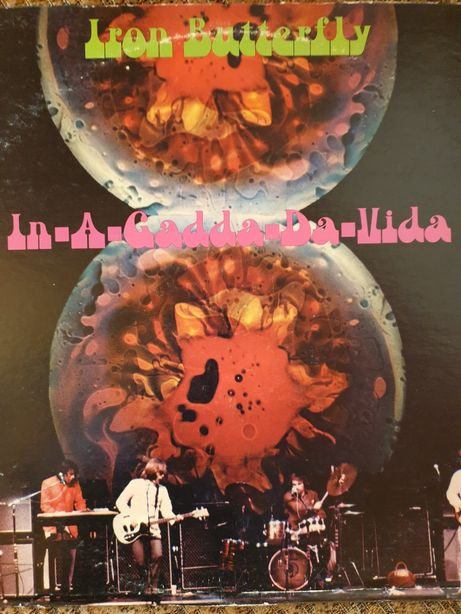 Iron Butterfly- In- A- Gadda-Da-Vida Lp.