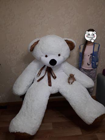 Медведь белый 2 Метра ! 500 гр