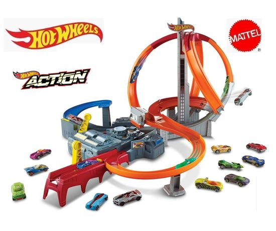 Hot Wheels Spin Storm Track Set CDL45 Хот Вілс
