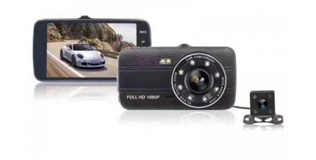Новинка, Full HD 1920х1080 Регистратор, видеорегистратор на две камеры
