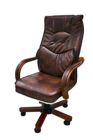 Офисное Кресло 8599р. Руководителя из натурального дерева
