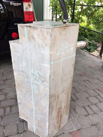 Бак для топлива дюраль 70-85 литров