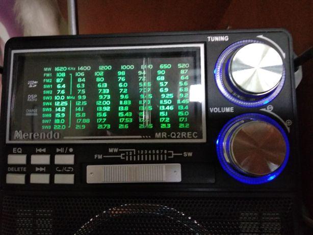 Радиоприемник Merenda MR-Q2REC c функцией записи