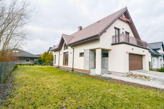 Wspaniały jednorodzinny dom w Łodzi.