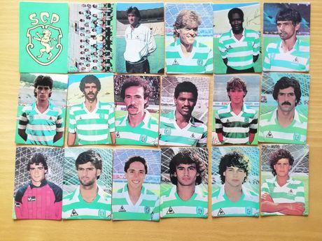 Calendários de bolso Sporting 1987