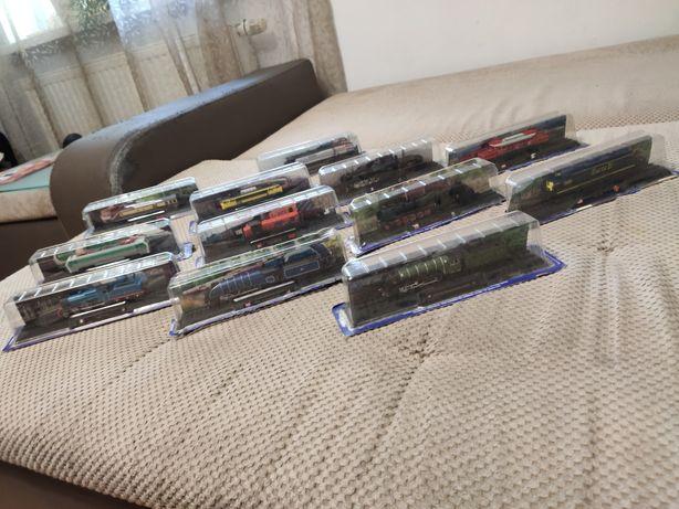 Kolekcja 12 pociągów