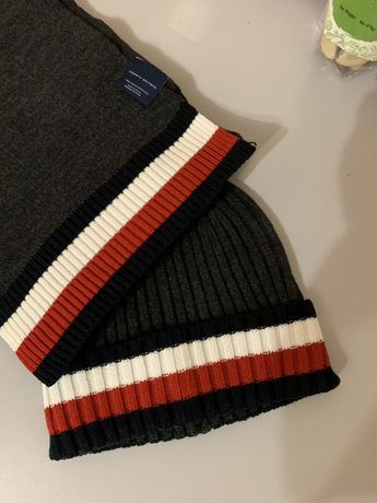 Набор шапка шарф Tommy Hilfiger оригинал