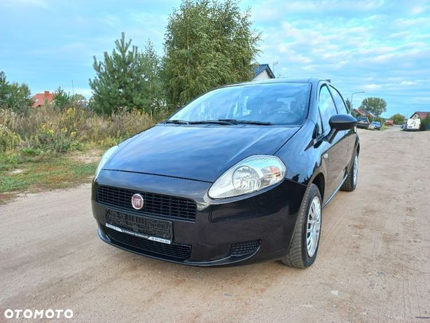 Fiat Grande Punto 1.4 Klima Opłacony Serwisowany