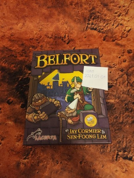 Gra planszowa Belfort