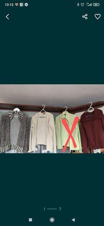 Sweterki  rozpinane  M