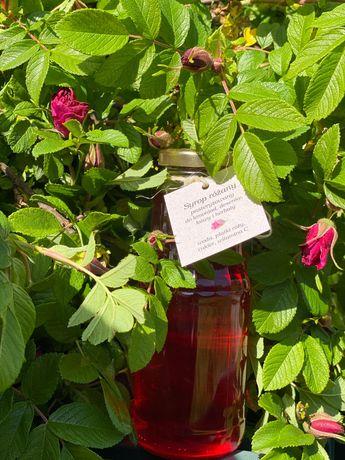 Syrop z płatków róży francuskiej/damascenskiej 300ml