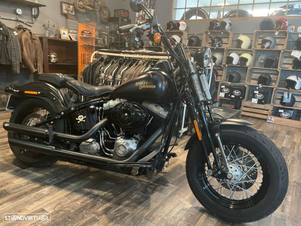 Harley-Davidson FLSTS  Crossbones