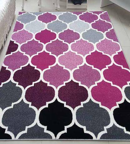 Nowoczesny dywan Fryz Sumatra 120x170 - różne wzory i kolory