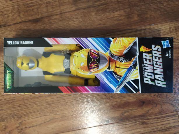 OKAZJA! FIGURKA Power Rangers Yellow żółty zabawka dla dzieci