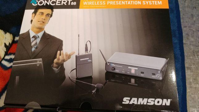 Продам радиосистему Samson Concert 88 UHF + LM 5  SWC88BLM5E UHF ,