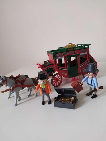 Playmobil dyliżans 4399+ gratis wędkarz