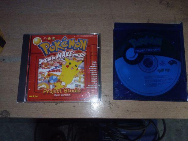 dwie płyty Pokemon
