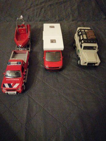 Samochody 3 sztuki
