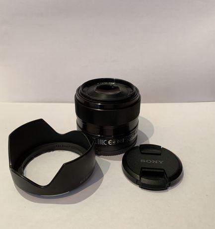 Объектив Sony e35mm f1.8 OSS (SEL35F18) E-Mount