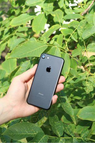 Идеал!!! Apple iPhone 7 32GB Mate Black гарантия/комплект/айфон