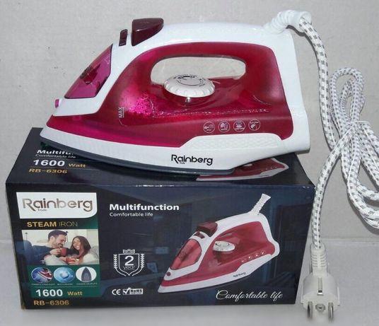 Новый качественный Утюг Rainberg RB 6306 1600 Вт гладилка купить