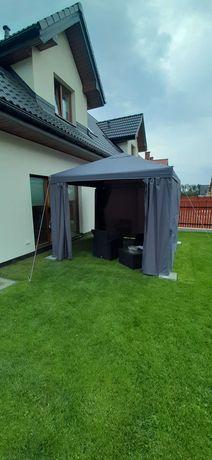 Pawilon ogrodowy Blooma Preston 3 x 3 m antracyt- namiot - NOWY !!
