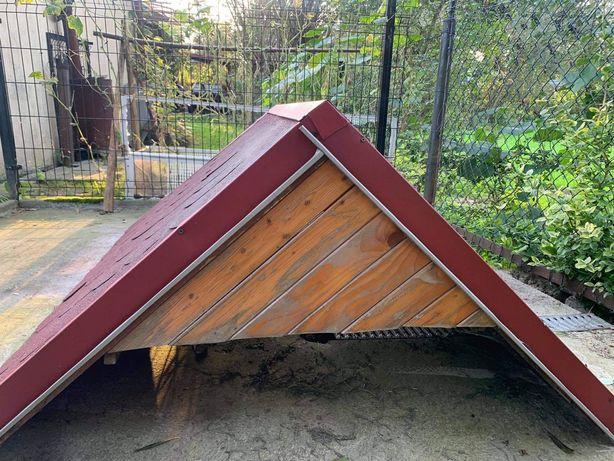 Dach do budy dla psa