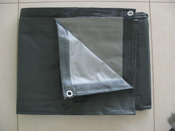 Plandeka 6x8 szaro-srebrna 200g/m2 i inne rozmiary, grubości, kolory