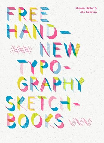 Livro Free Hand New Typography Sketchbooks NOVO