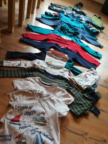 Zestaw ubran, mega paka dla chłopca 98/104