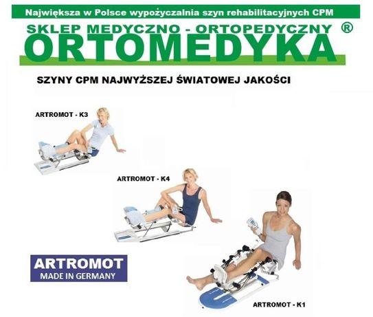 Wypożyczalnia szyn CPM - ARTROMOT - Ortomedyka.pl