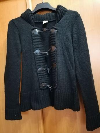 Czarny sweter. M/L.