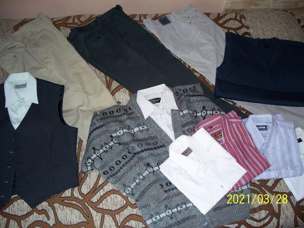 Wielka paka męskiej odzieży