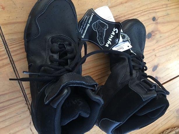 Buty do tańca Sansha model boomerang.