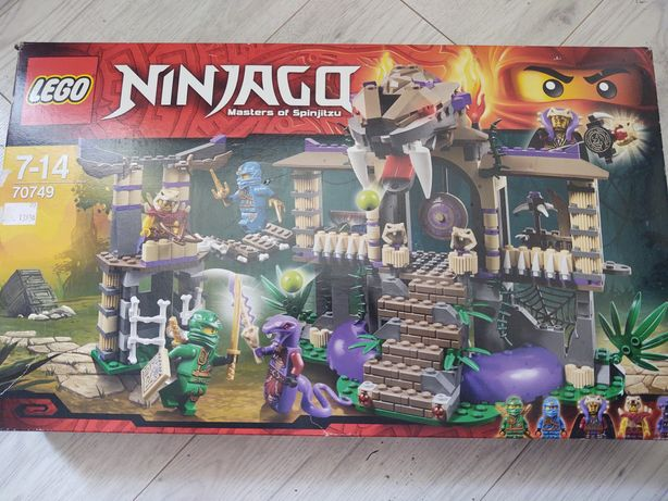 Sprzedam 4 zestawy lego ninjago 70745,70746,70747,70749